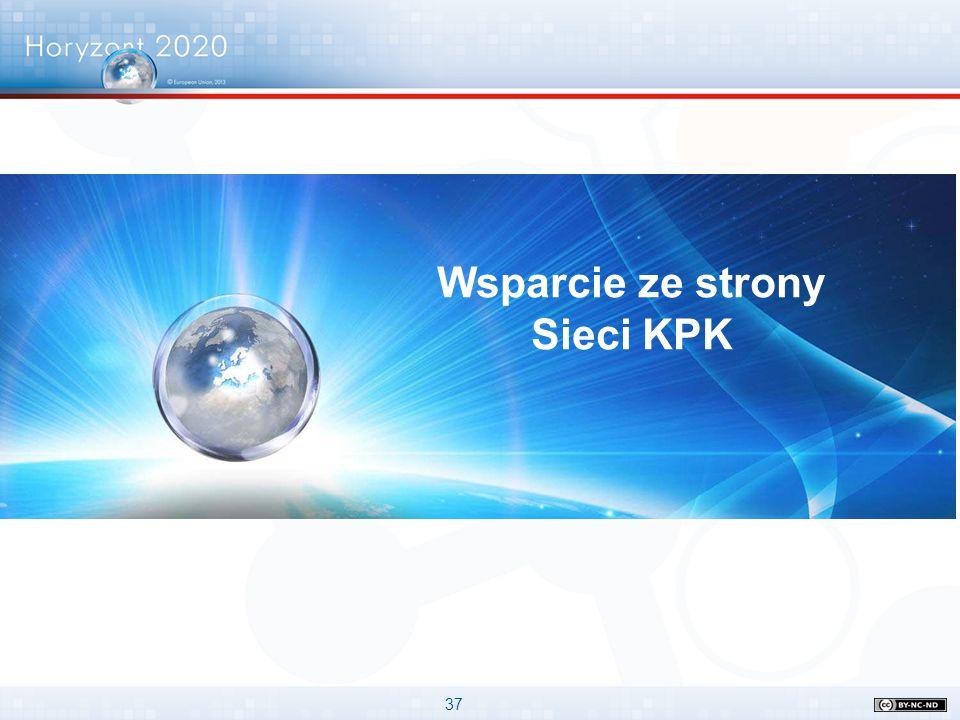 37 Wsparcie ze strony Sieci KPK