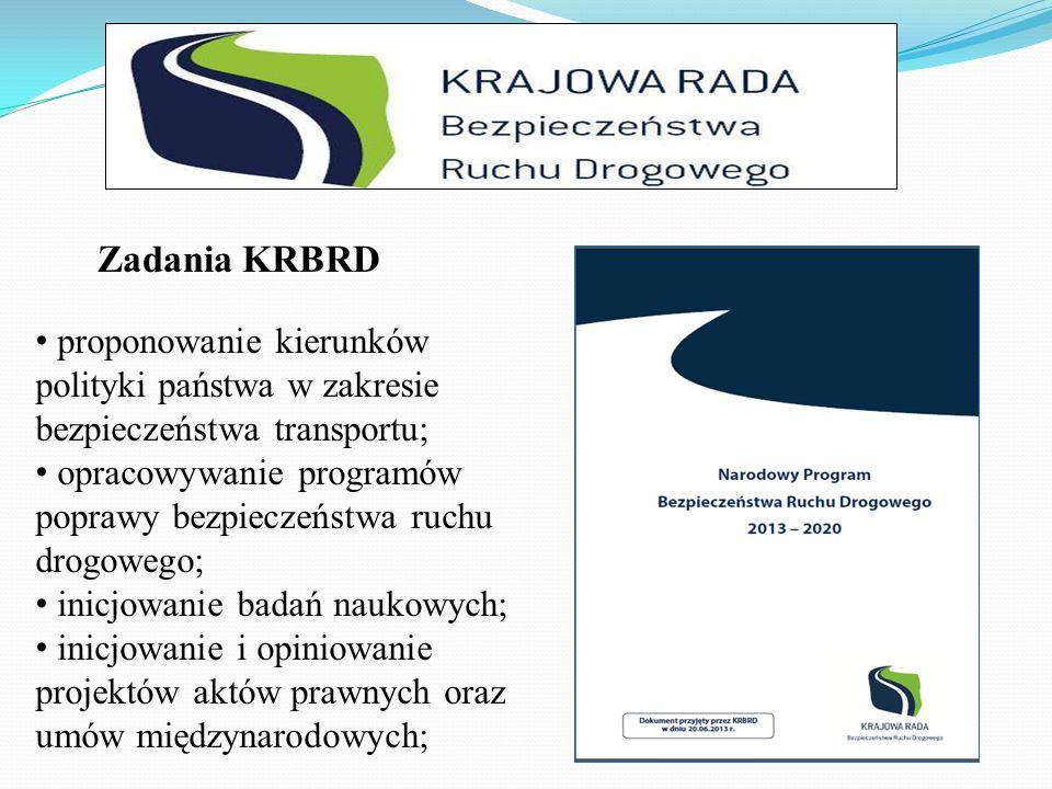 inicjowanie kształcenia kadr administracji; inicjowanie współpracy zagranicznej; współpraca z właściwymi organizacjami społecznymi i NGO; inicjowanie działalności edukacyjno – informacyjnej; Zadania KRBRD