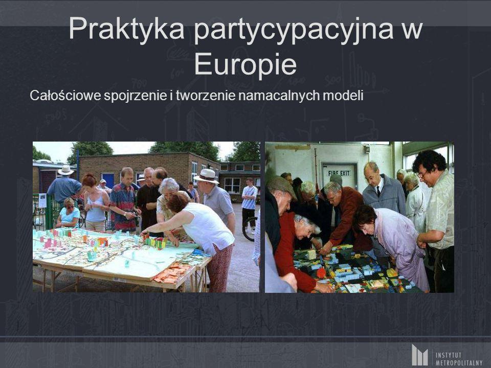 Praktyka partycypacyjna w Europie Zaangażowanie mieszkańców w projekty o wszelakiej skali
