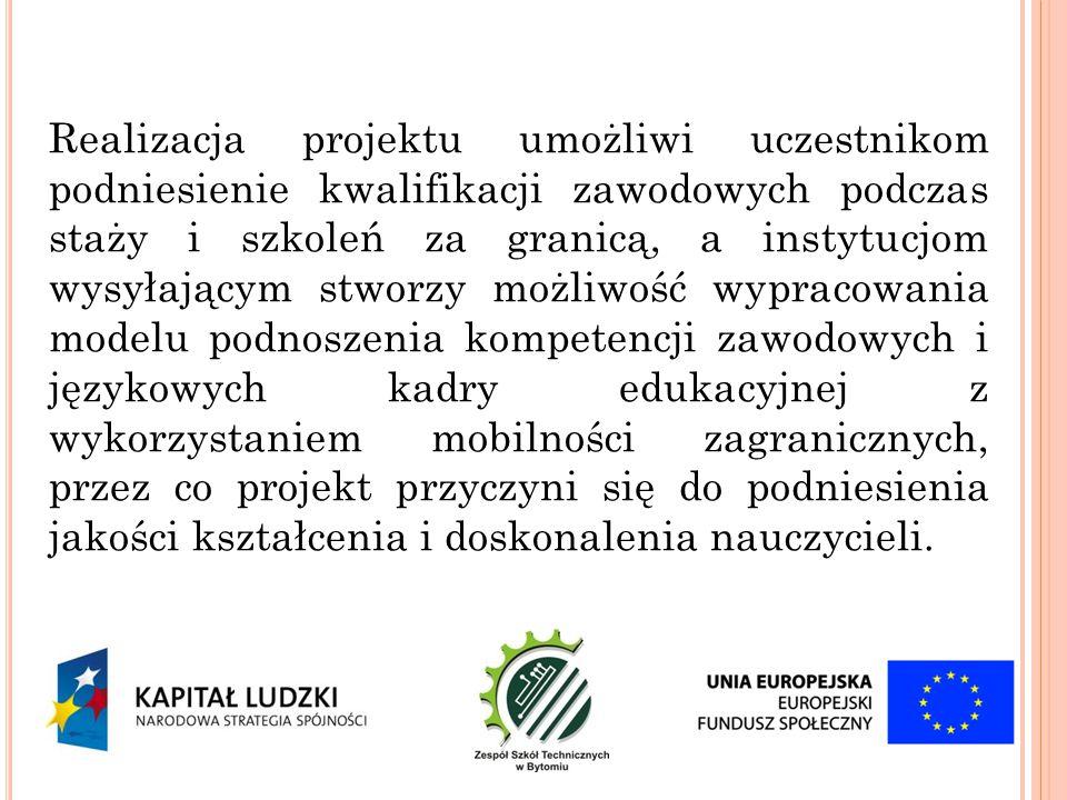 Dzień 4 Wizyta studyjna w szkole zawodowej IES Zaidín-Vergeles (celem spotkania ma być omówienie współpracy szkoły z firmami i placówkami kształcącymi w ramach praktyk zawodowych).