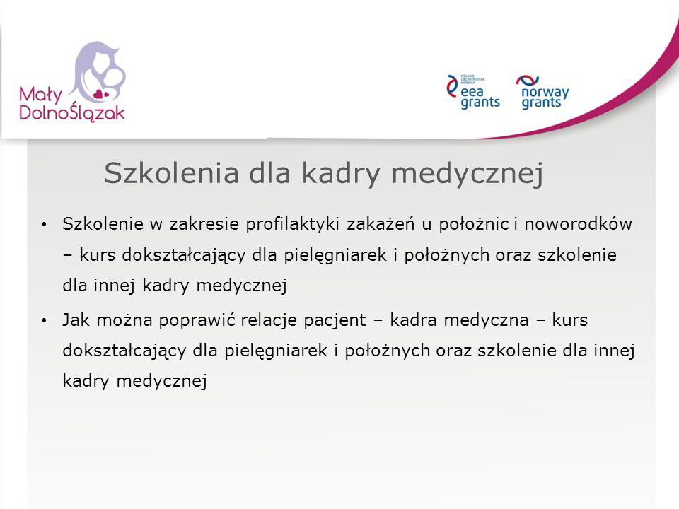 Szkolenie w zakresie profilaktyki zakażeń u położnic i noworodków – kurs dokształcający dla pielęgniarek i położnych oraz szkolenie dla innej kadry me