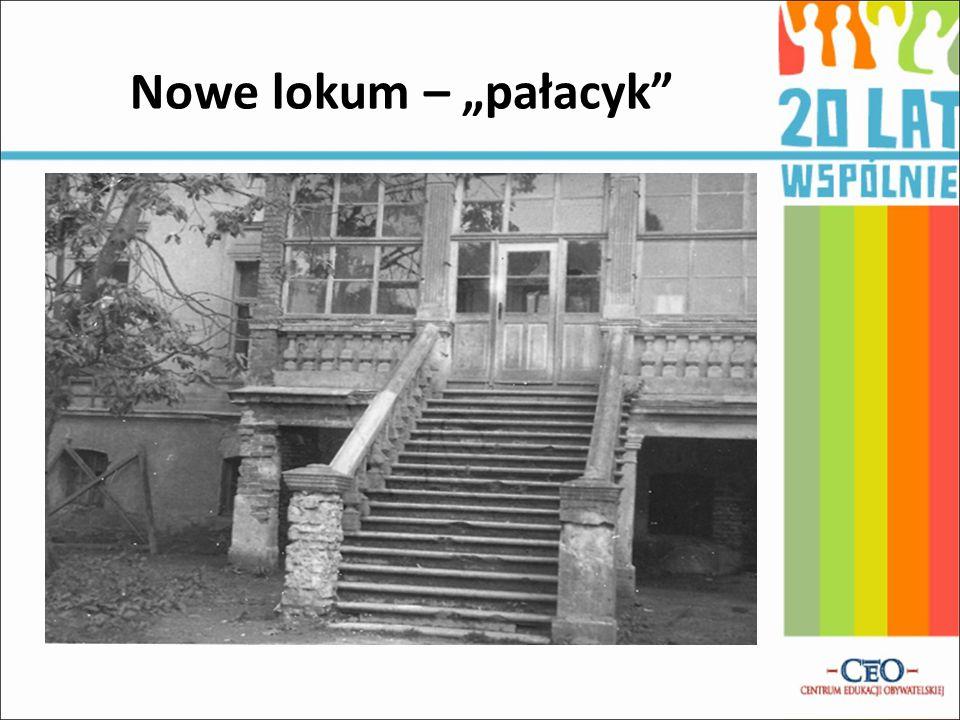 """Nowe lokum – """"pałacyk"""""""