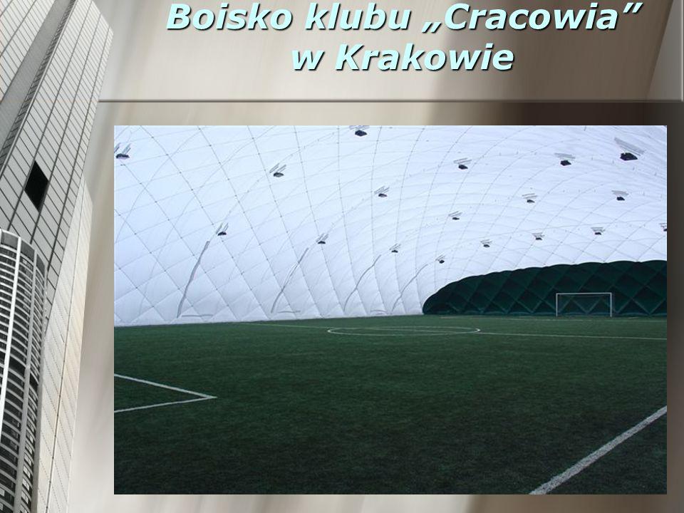 """Boisko klubu """"Cracowia w Krakowie"""