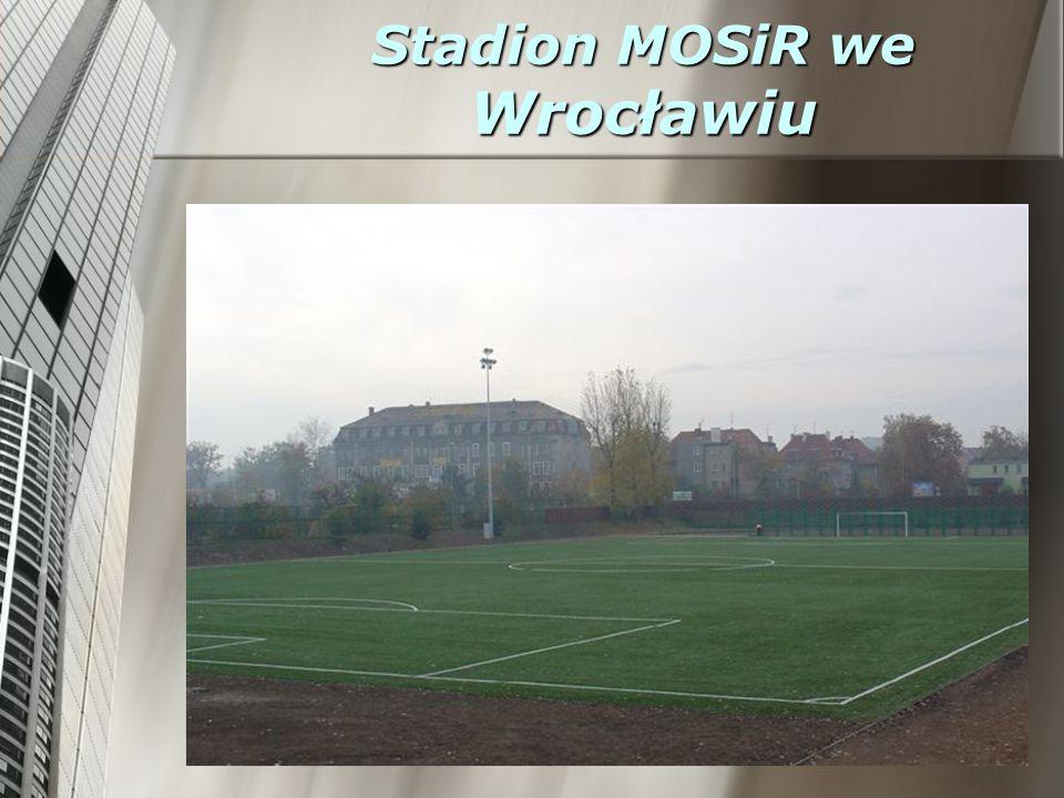 Stadion MOSiR we Wrocławiu