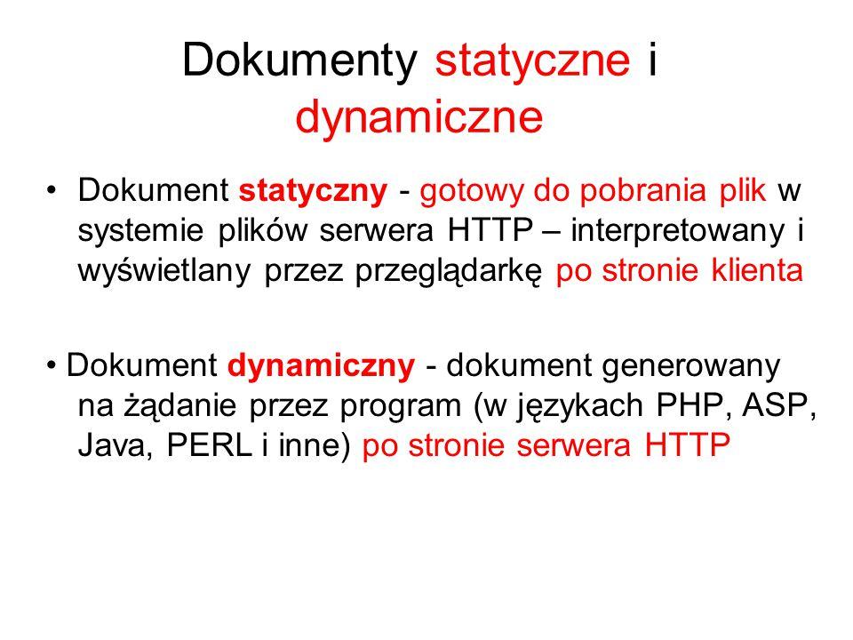 Wskaźnik do zasobu w sieci Internet Adresy URL