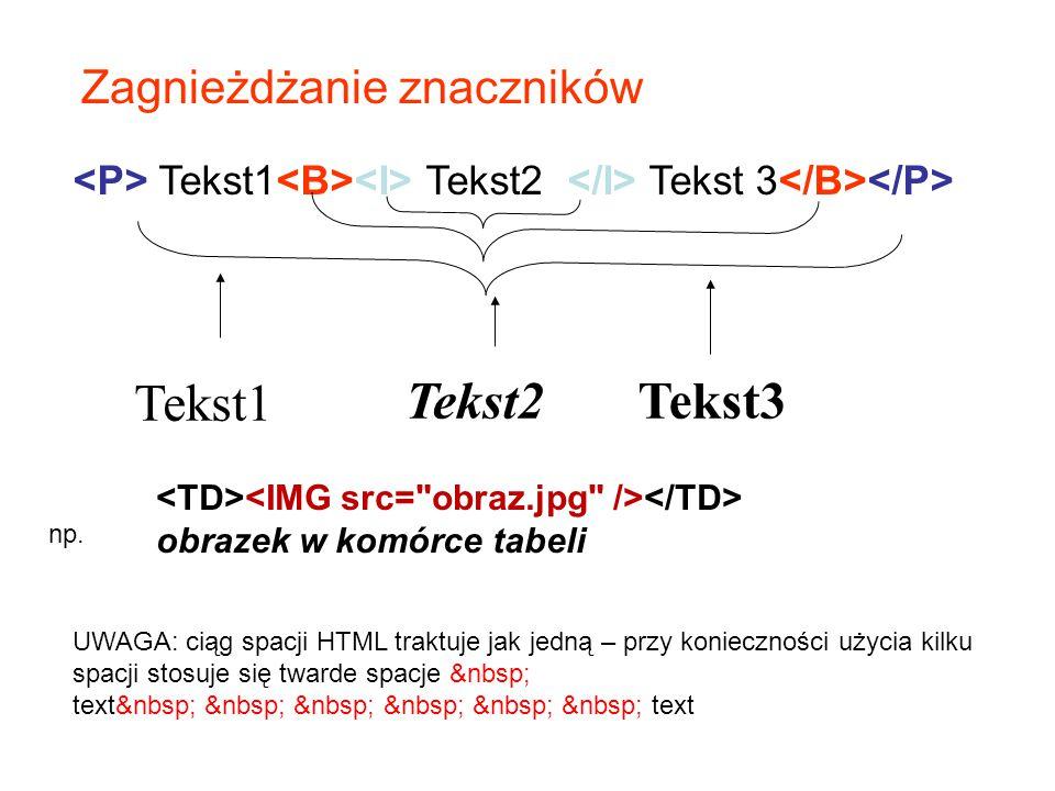 21 Dokument HTML Plik HTML Pliki załączników (np. grafika) http://wazniak.mimuw.edu.pl