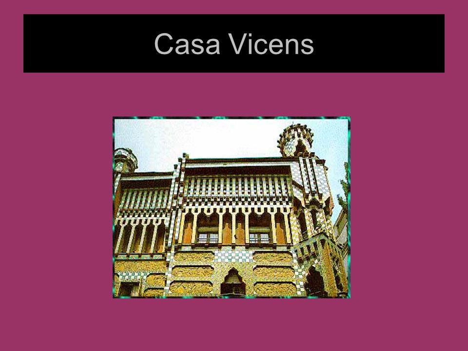 Architektura Gaudiego Nowe technologie umożliwiły dowolne kształtowanie formy – w parku Guel kolumny tarasów są nachylone pod kątem w stosunku do ziemi.