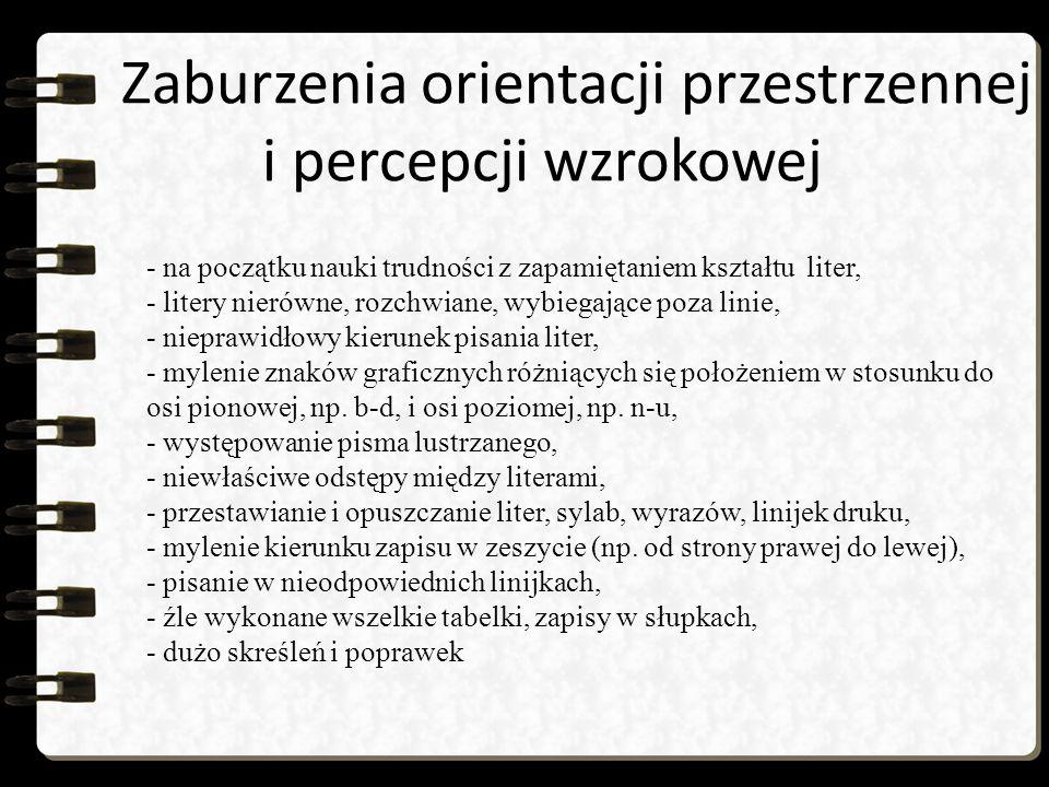 Opaska grafomotoryczna proponowana przez Panią Agnieszkę Rosę Agnieszka Rosa – założycielka Poradni Terapii Ręki oraz Orticus Centrum Terapii Widzenia