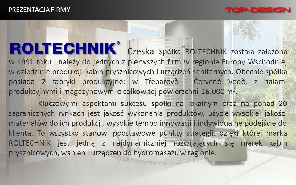 PREZENTACJA FIRMY Czeska s półka ROLTECHNIK została założona w 1991 roku i należy do jednych z pierwszych firm w regionie Europy Wschodniej w dziedzin