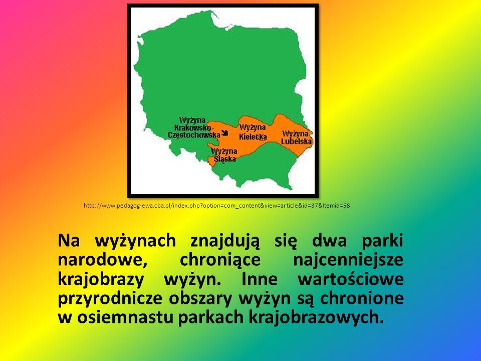 Parki Narodowe Wyżyn www.chronmyklimat.pl
