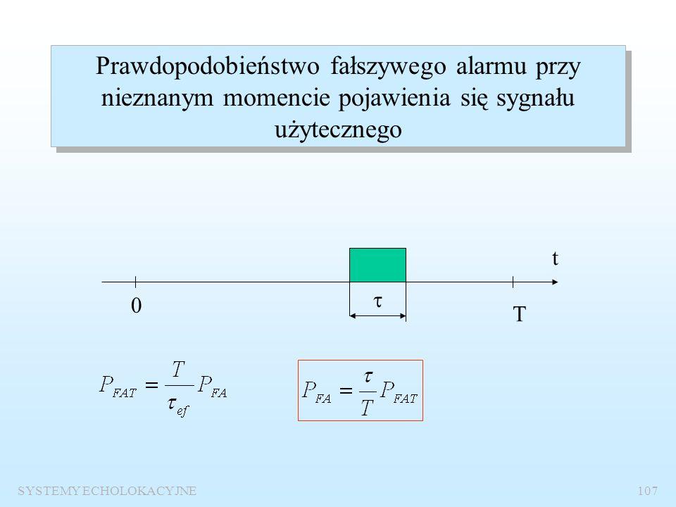 SYSTEMY ECHOLOKACYJNE106