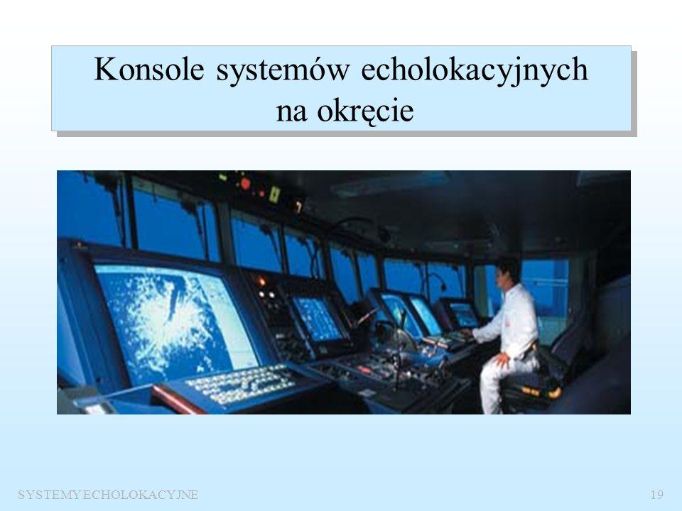 SYSTEMY ECHOLOKACYJNE18 Anteny radarowasonarowa