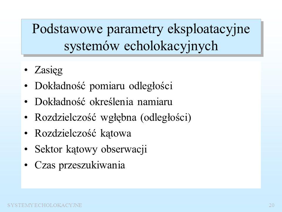 SYSTEMY ECHOLOKACYJNE19 Konsole systemów echolokacyjnych na okręcie