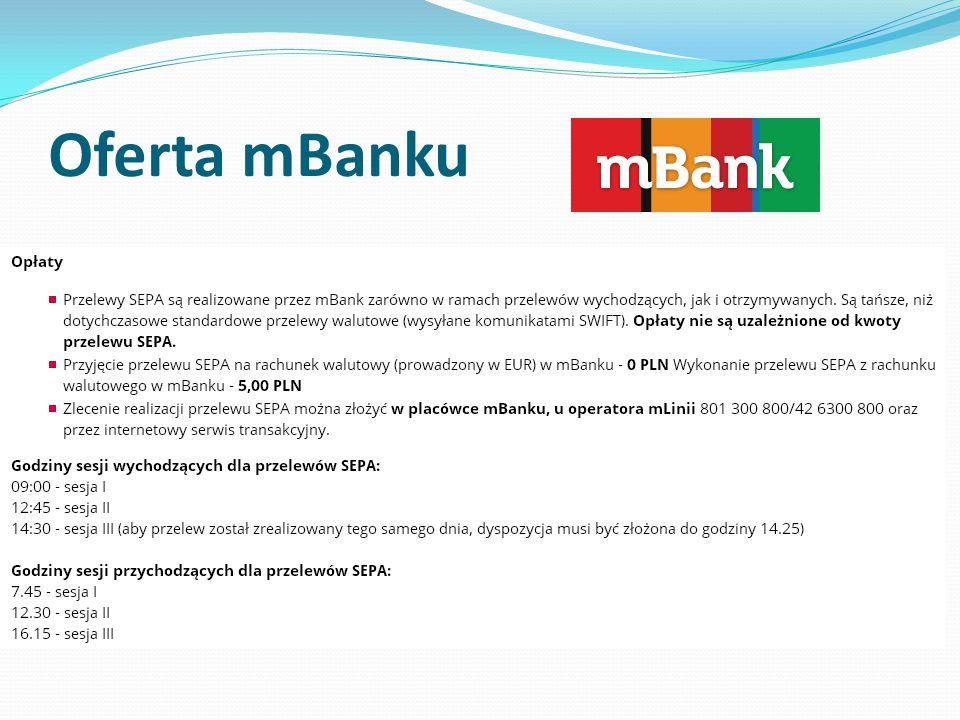 Oferta mBanku