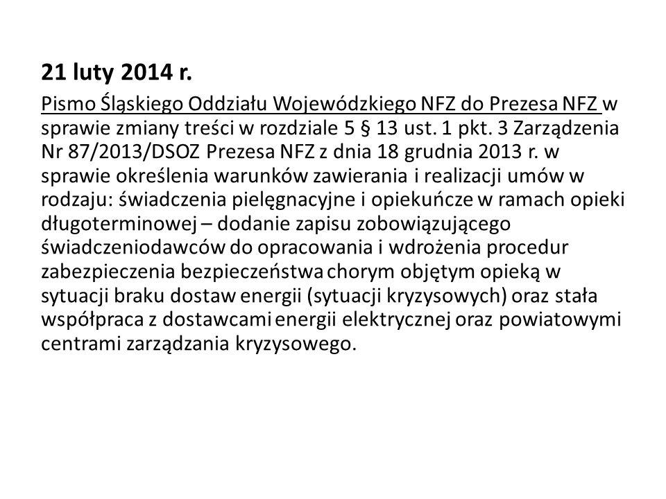 21 luty 2014 r.