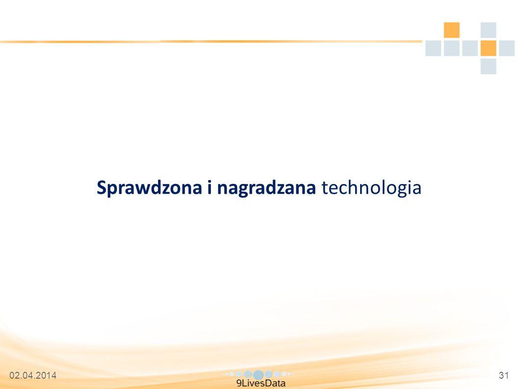 02.04.201431 Sprawdzona i nagradzana technologia