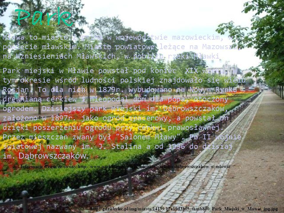 http://gdziebylec.pl/img/miasta/14139/17e19d3bf5_thmb800_Park_Miejski_w_Mawie_jpg.jpg Park Mława to miasto i gmina w województwie mazowieckim, w powiecie mławskim.