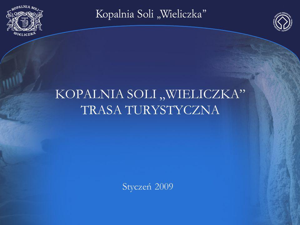 """KOPALNIA SOLI """"WIELICZKA"""" TRASA TURYSTYCZNA Styczeń 2009"""