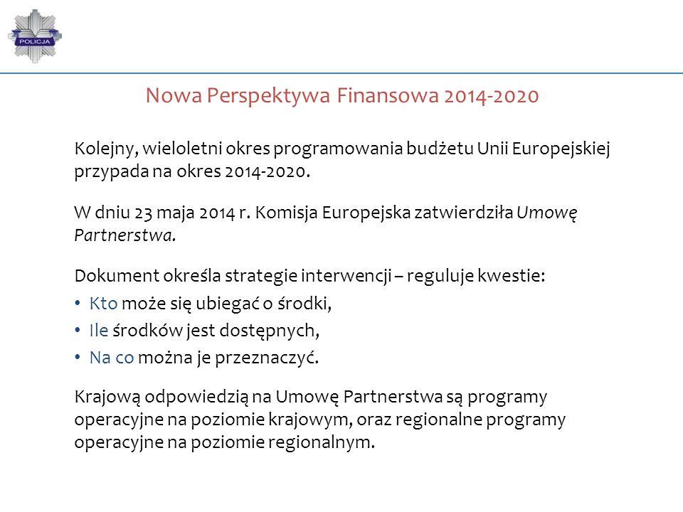 Kolejny, wieloletni okres programowania budżetu Unii Europejskiej przypada na okres 2014-2020. W dniu 23 maja 2014 r. Komisja Europejska zatwierdziła