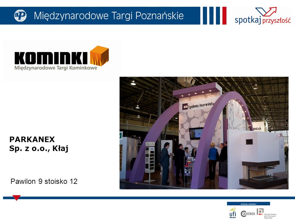 PARKANEX Sp. z o.o., Kłaj Pawilon 9 stoisko 12