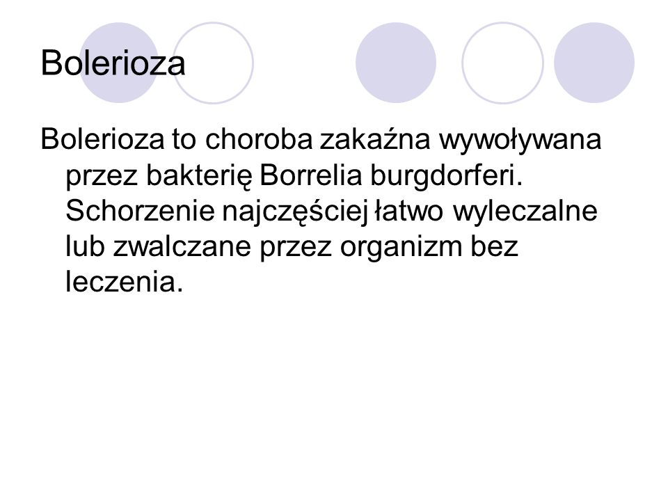 Bakteria Borrelia burgdorferi