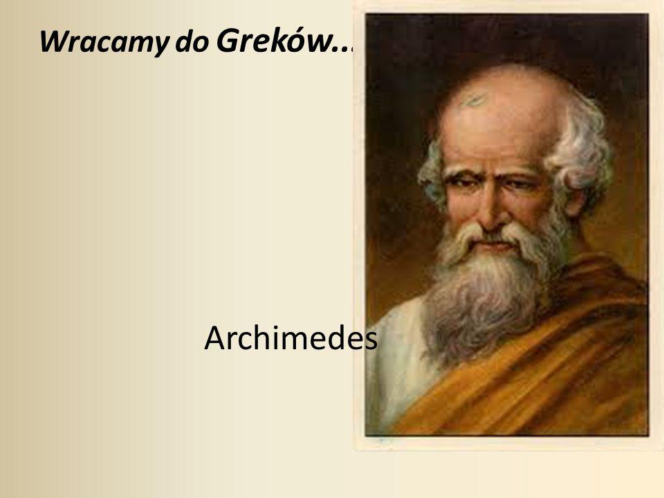 Metoda aproksymacji liczby π zaproponowana przez Archimedesa (rys.