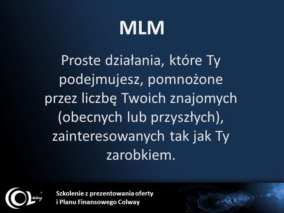 MLM Proste działania, które Ty podejmujesz, pomnożone przez liczbę Twoich znajomych (obecnych lub przyszłych), zainteresowanych tak jak Ty zarobkiem.