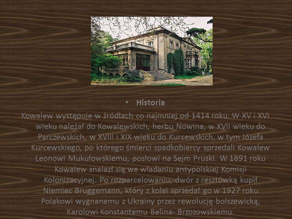 Historia Kowalew występuje w źródłach co najmniej od 1414 roku. W XV i XVI wieku należał do Kowalewskich, herbu Nowina, w XVII wieku do Parczewskich,