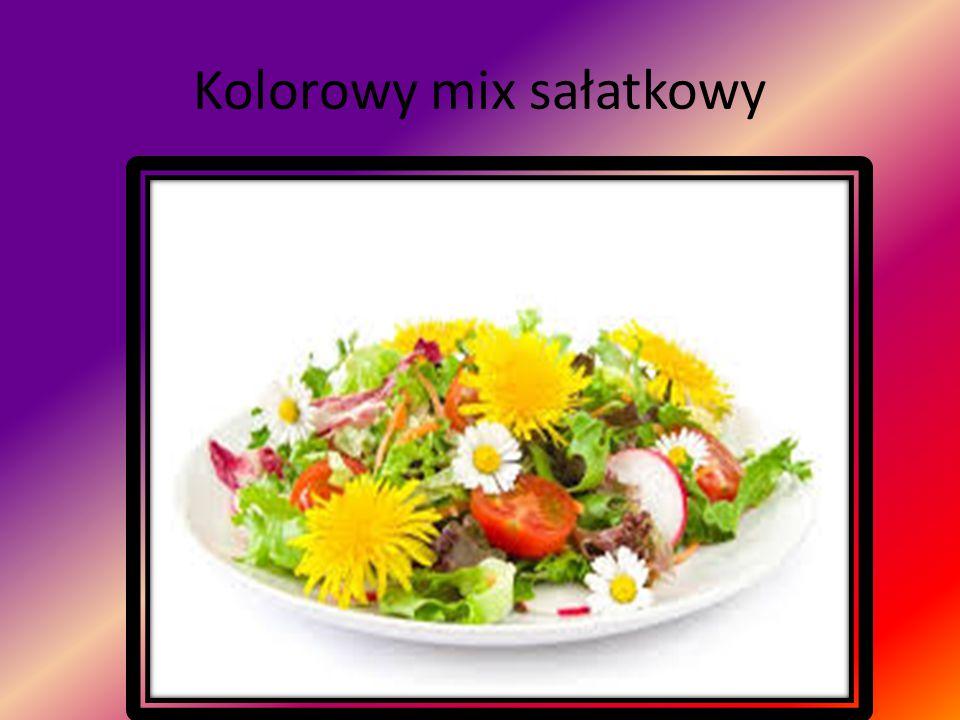Kolorowy mix sałatkowy
