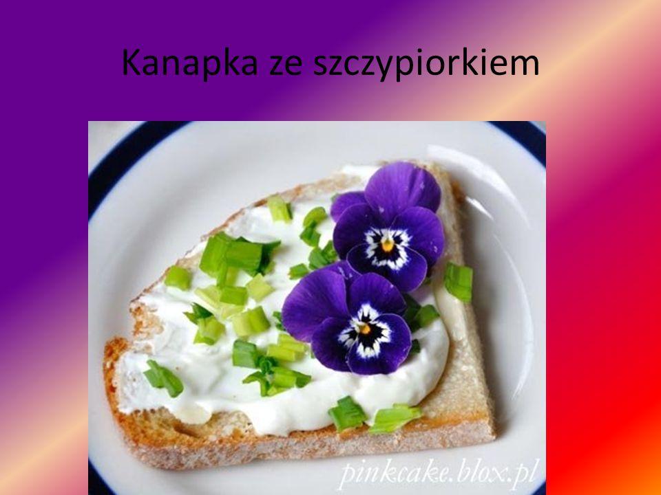 Kanapka ze szczypiorkiem