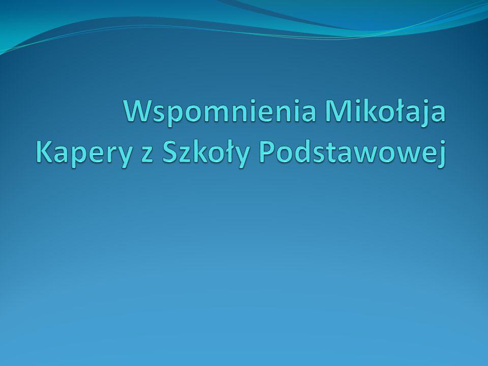 Kl.0 Przejście z przedszkola do zerówki Szkoły podstawowej im. Henryka Sienkiewicza w Szyku.