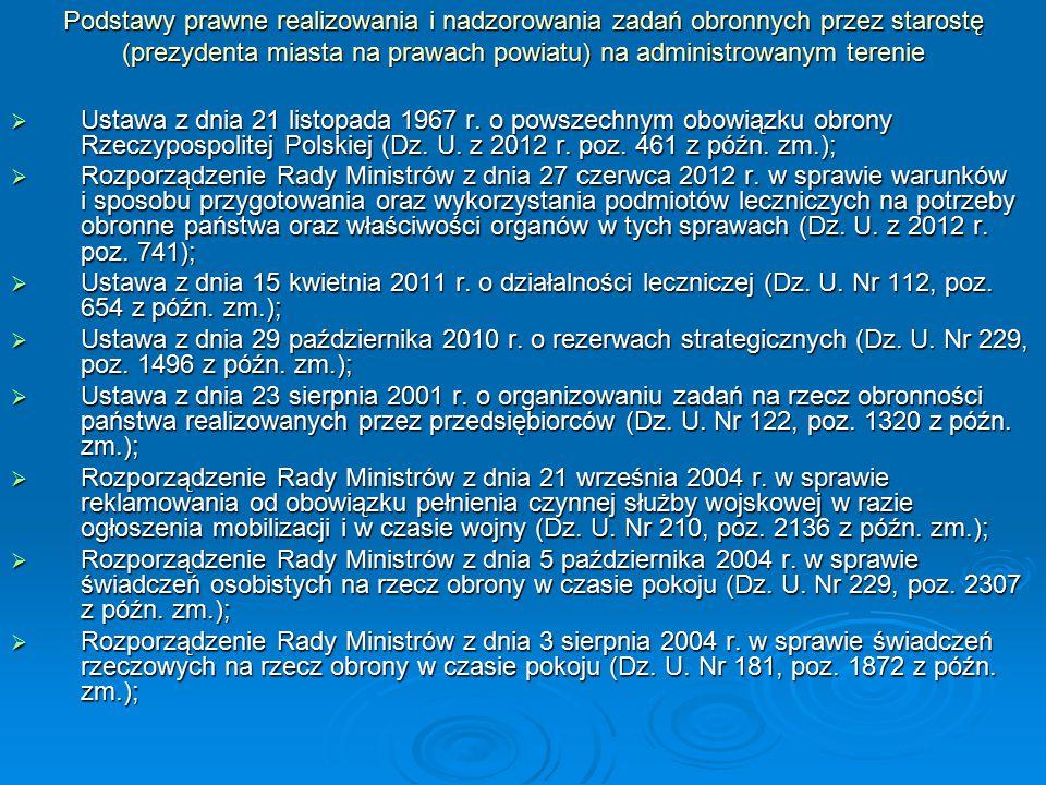 c.d.  Rozporządzenie Rady Ministrów z dnia 11 sierpnia 2004 r.