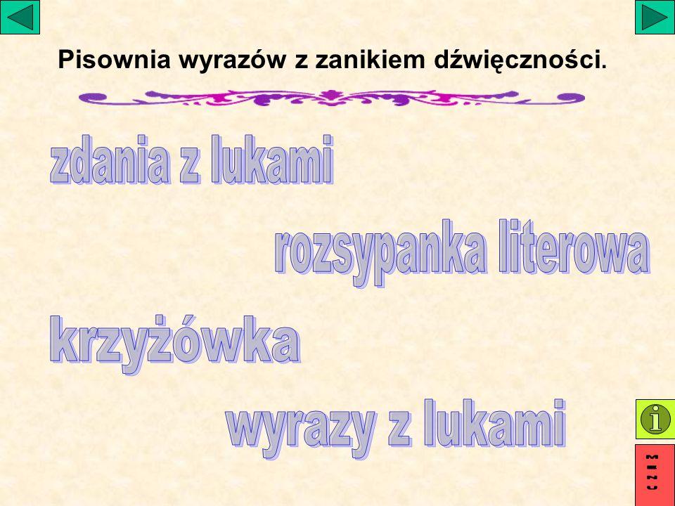 g r u d zień 31215224 Wybierz literę wyrazu, którą wskazuje cyfra na obrazku i ułóż hasło.