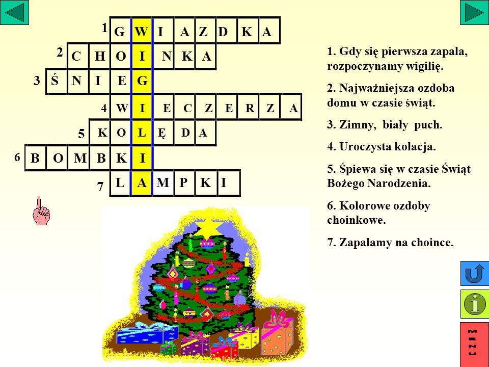 Z podanych liter ułóż wyrazy. r,b,y,z,g a,m,h,r,w,c,e a,i,w,t,k, e,l,c,b,h ż,j,e grzyb chleb jeż kwiat marchew