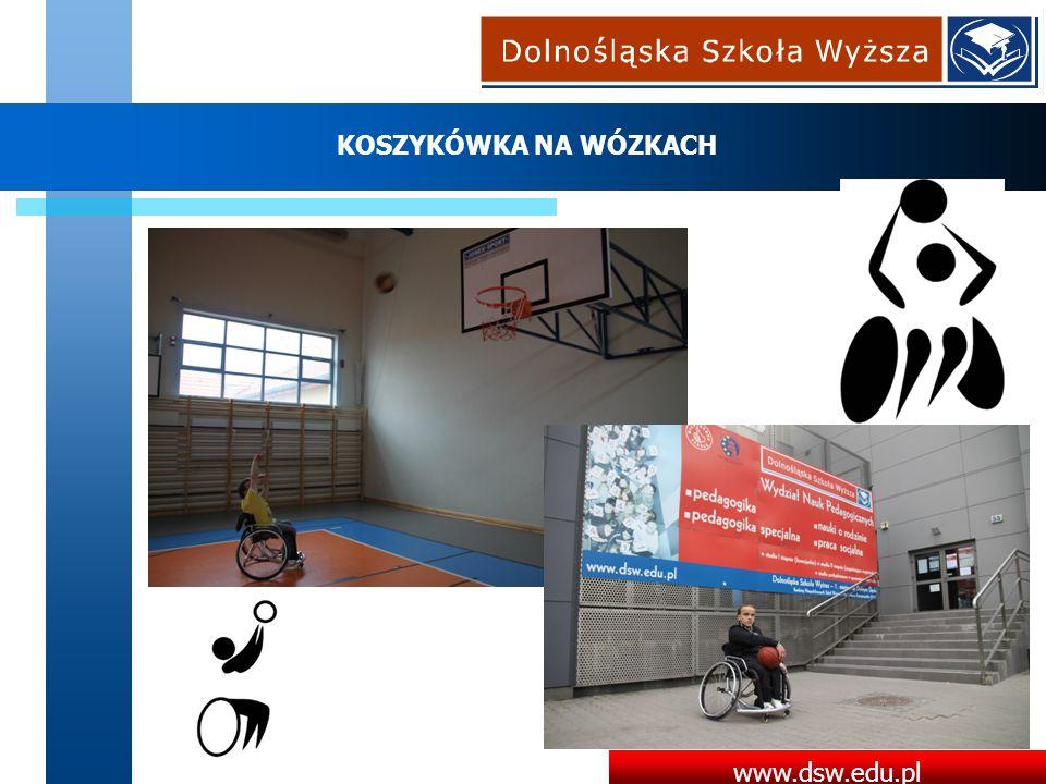 www.dsw.edu.pl KOSZYKÓWKA NA WÓZKACH