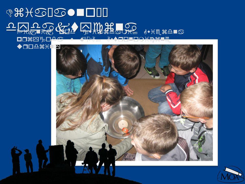 Działalność dydaktyczna Piknik pod gwiazdami; Gwiezdna przygoda w MOA; Astronomiczne urodziny