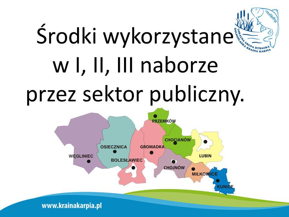 Łączna suma środków wykorzystanych przez gminy w I, II, III, IV naborze: 6 393 220,61 zł