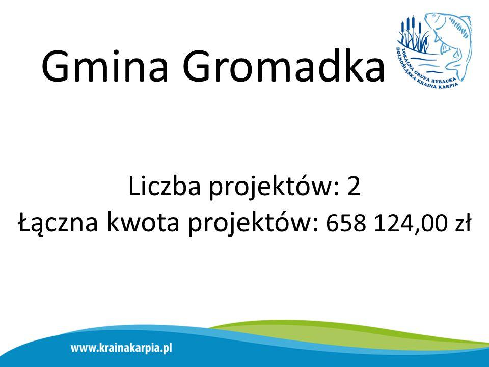Gmina Lubin Liczba projektów: 2 Łączna kwota projektów: 658 146,00 zł