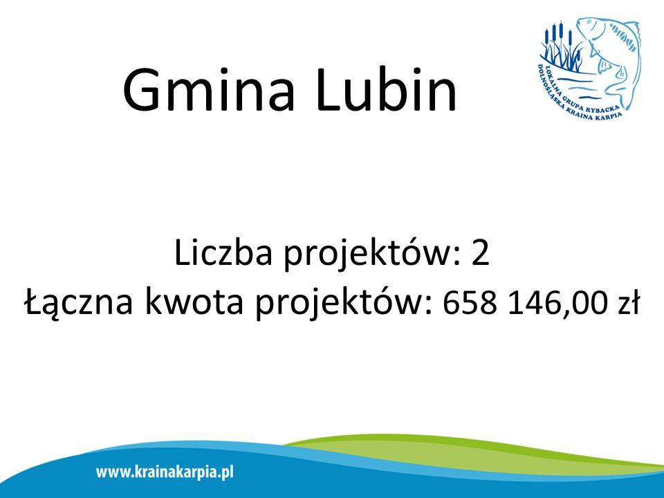 Gmina Chojnów Liczba projektów: 5 Łączna kwota projektów: 418 852,00 zł