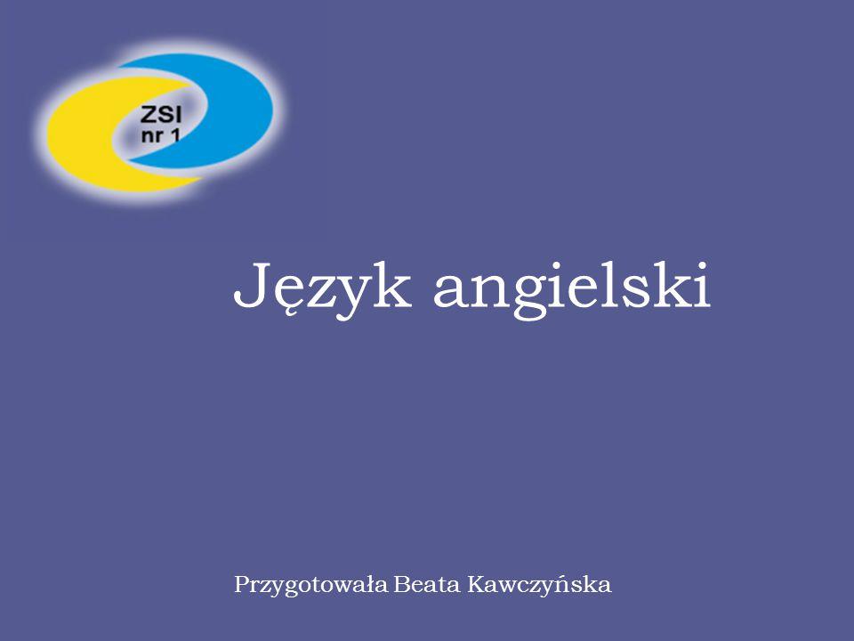 Język angielski Przygotowała Beata Kawczyńska