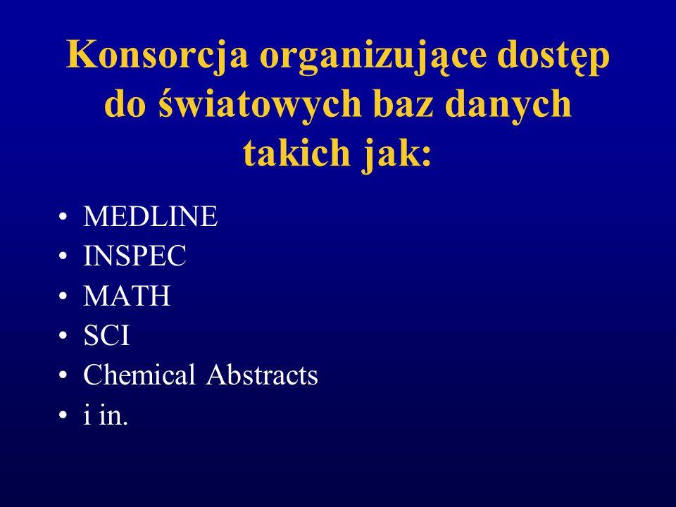 Konsorcja lokalne ds. wdrażania zintegrowanych systemów bibliotecznych Krakowski Zespół Biblioteczny Porozumienie bibliotek lubelskich