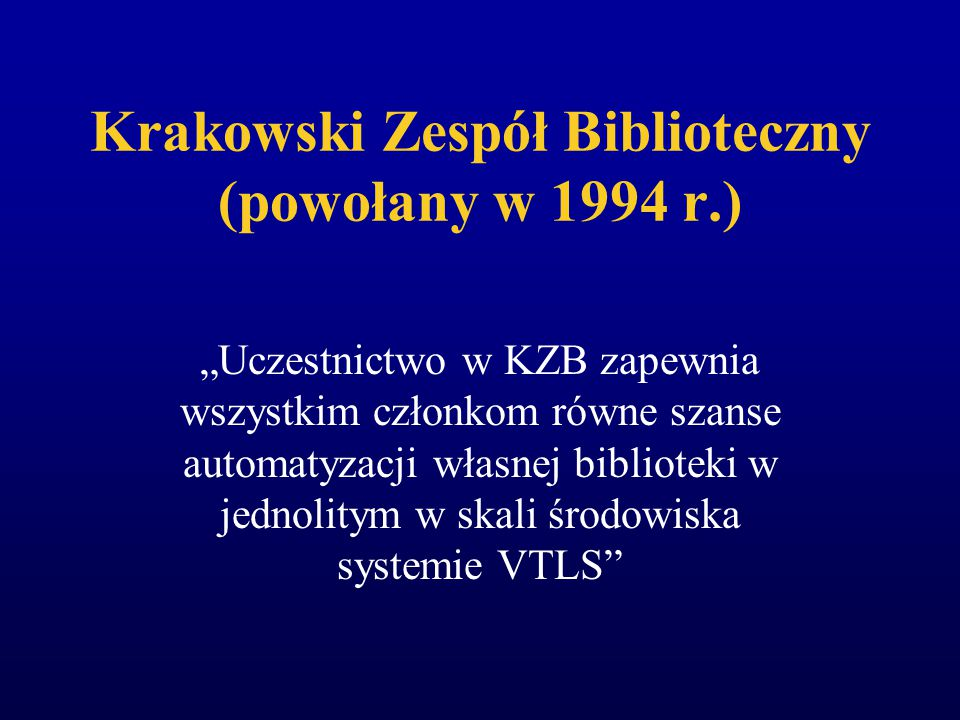 Poznańska Fundacja Bibliotek Naukowych koordynacja prac w zakresie komputeryzacji, wspierania działań bibliotek w zakresie informacji naukowej, np.: u
