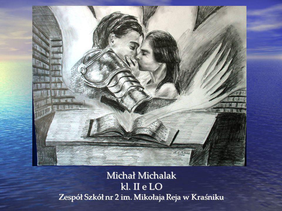 Michał Michalak kl. II e LO Zespół Szkół nr 2 im. Mikołaja Reja w Kraśniku