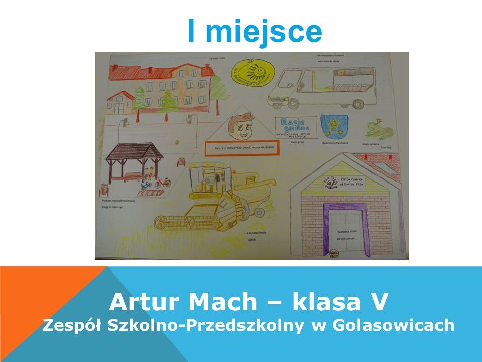 Artur Mach – klasa V Zespół Szkolno-Przedszkolny w Golasowicach I miejsce