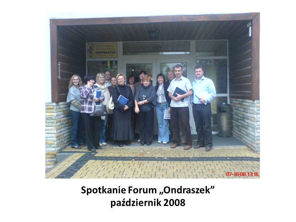 """Spotkanie Forum """"Ondraszek"""" październik 2008"""