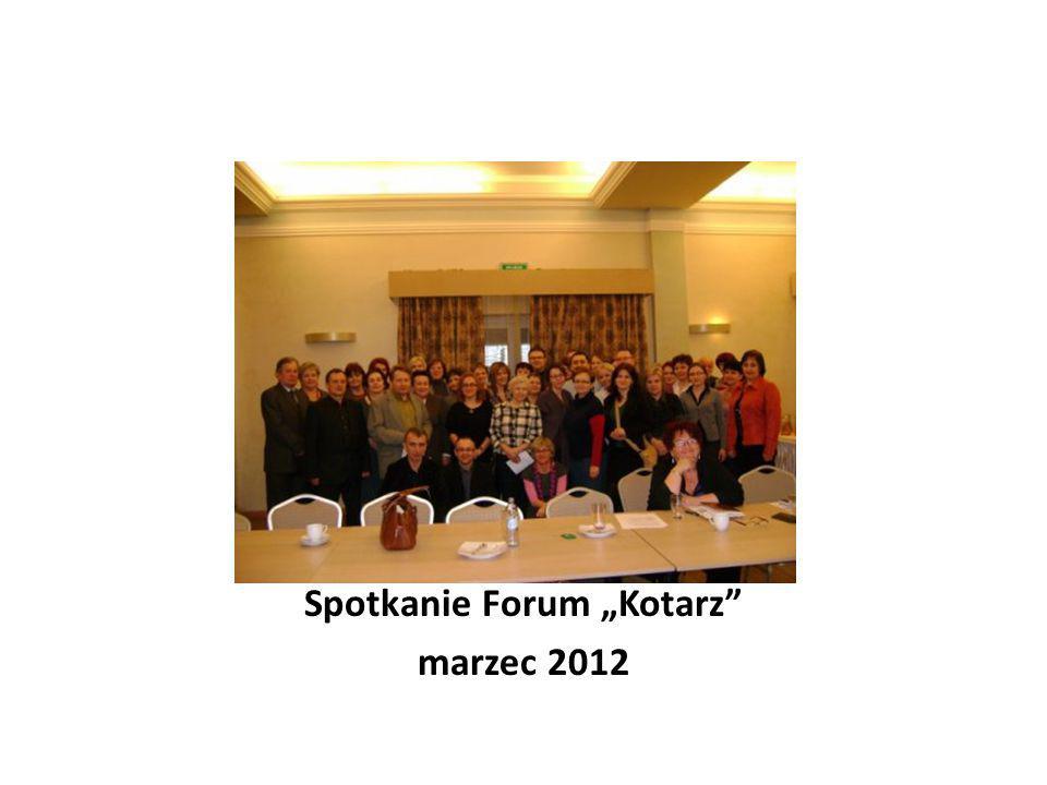 """Spotkanie Forum """"Kotarz"""" marzec 2012"""