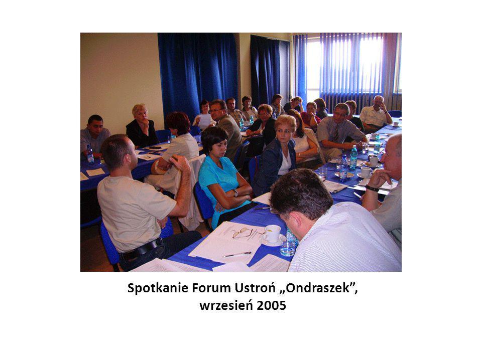 """Spotkanie Forum Ustroń """"Ondraszek , wrzesień 2005"""