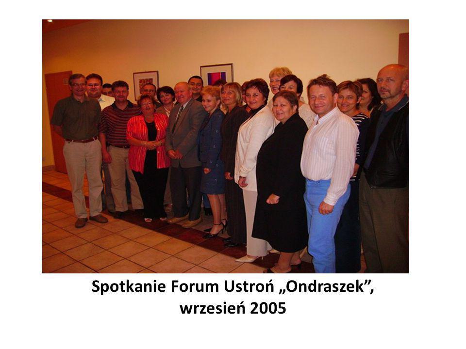 """Spotkanie Forum Ustroń """"Ondraszek"""", wrzesień 2005"""