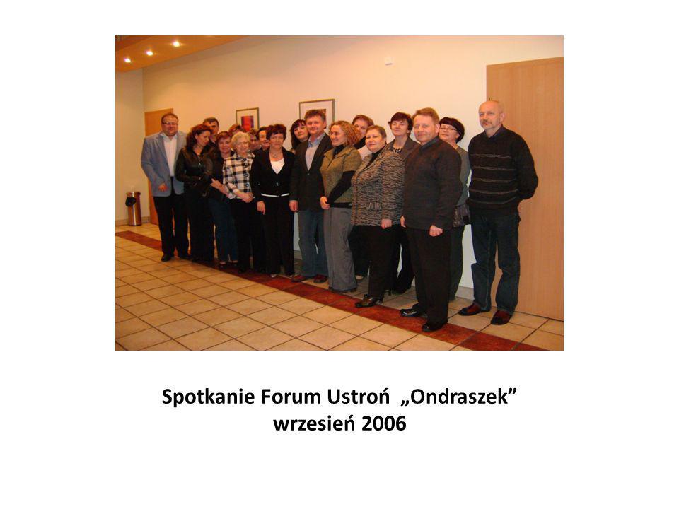"""Spotkanie Forum Ustroń """"Ondraszek"""" wrzesień 2006"""