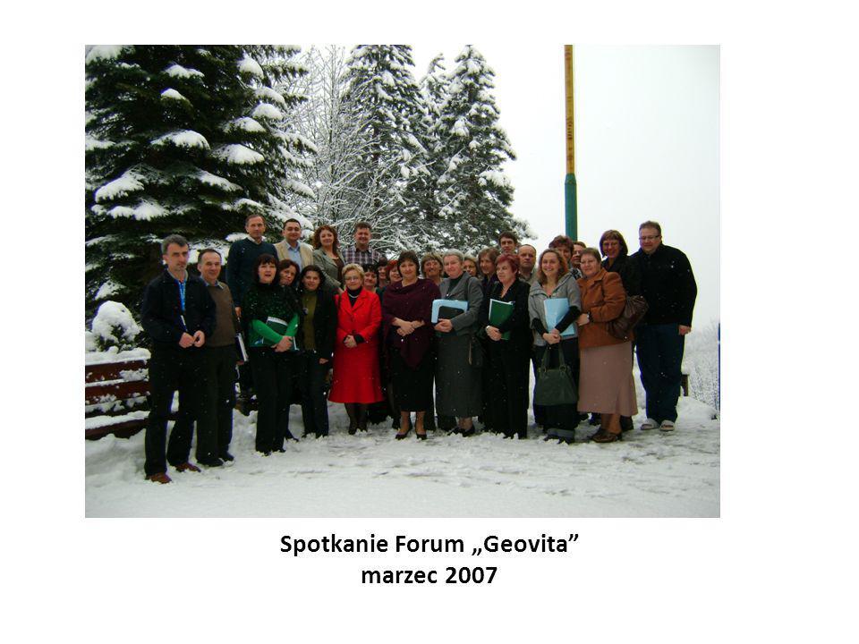 """Spotkanie Forum """"Geovita"""" marzec 2007"""
